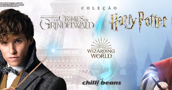 Fashionistas Kids  O bruxo mais famoso do mundo ganha coleção da Chilli  Beans! 8b89c746c7