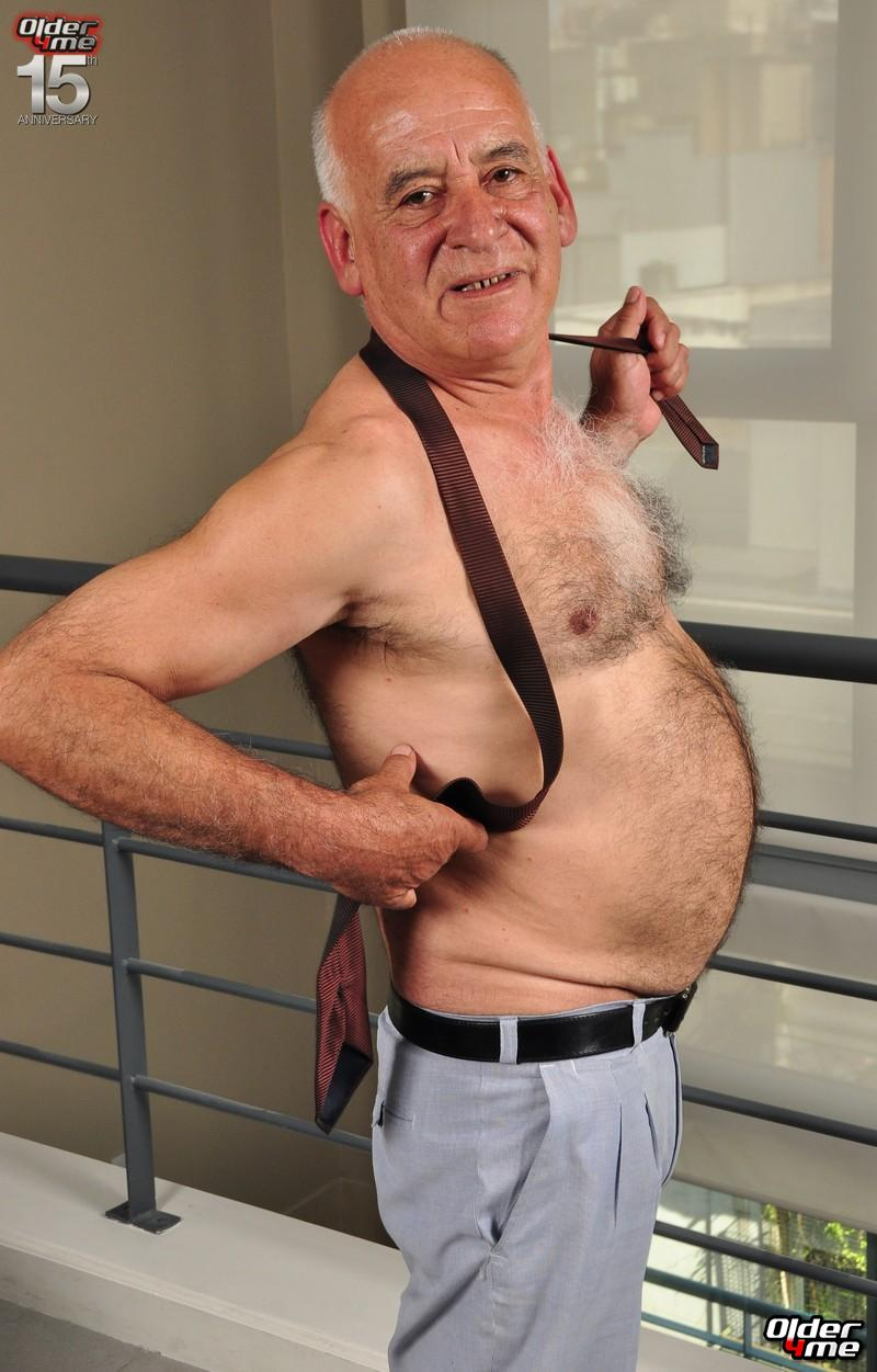 Old fat couple gay having sex with group of 3