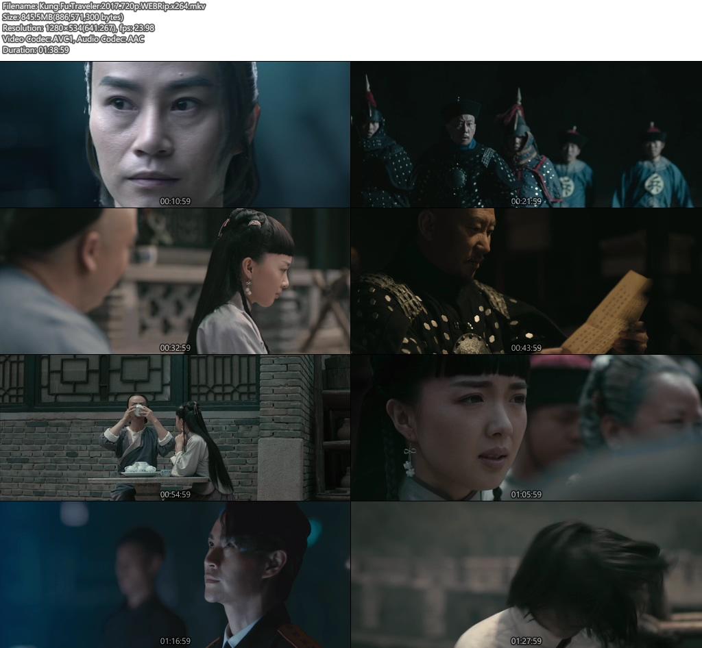 Kung Fu Traveler 2017 720p WEBRip | 480p 300MB | 150MB HEVC x264 Screenshot