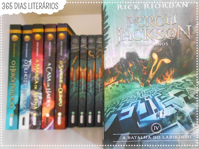 Percy Jackson, A Batalha do Labirinto, Rick Riordan, TAG Literária,DesafioFãDeLivros