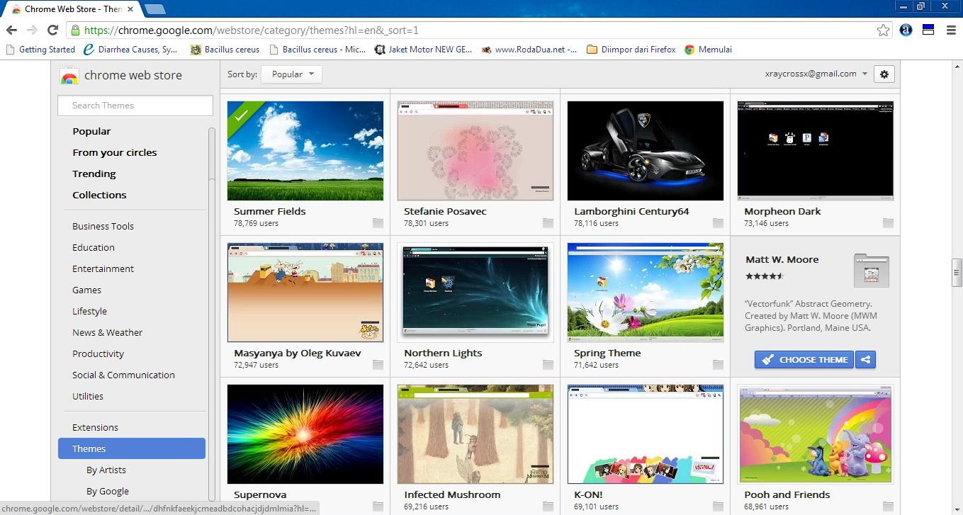 Vocaloid Google Chrome Theme By Googlechromethemes On – Desenhos