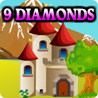 Avmgames 9 Diamonds Escap…