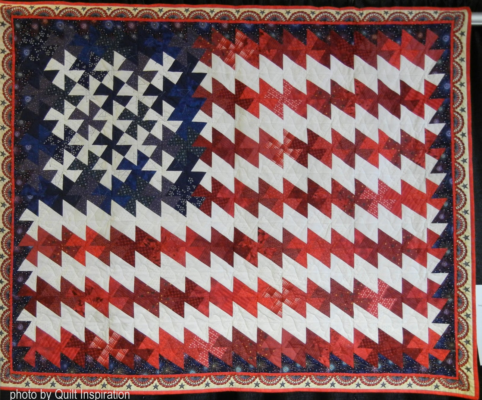 Patriotic Quilt Patterns For Free : Quilt Inspiration: Memorial Day 2016