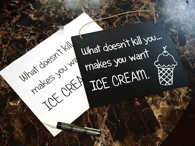 What doesn't kill you makes you want ice cream
