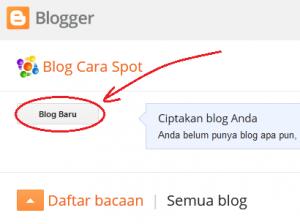 Mulai bikin blog baru