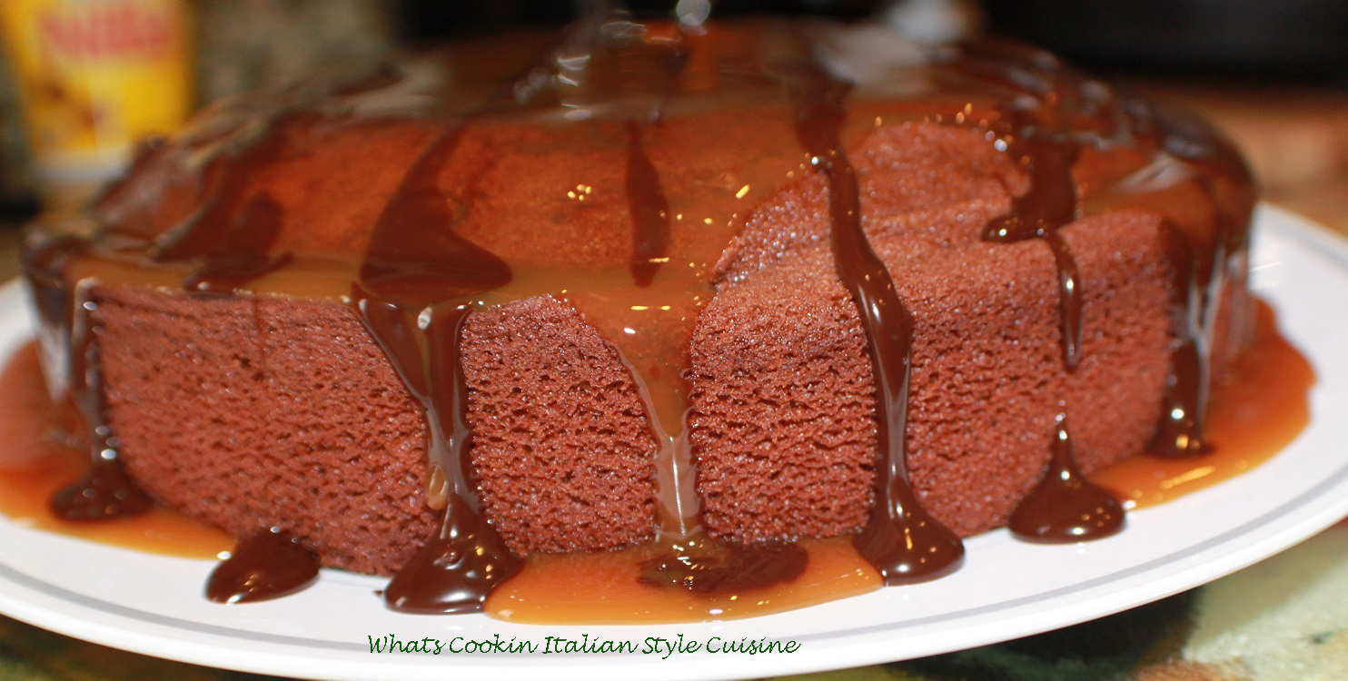 this is a sour milk cake. Mom made this chocolate cake using sour milk. Back in the 1940's they always used anything they had to save money. This is a depression food. This cake is made with sour milk and all homemade from scratch and the cake is an economical way to not throw out food that spoiled