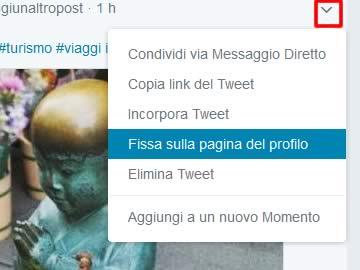 Come promuovere un tweet su Twitter
