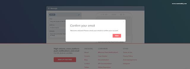 Cara Menambahkan Push Notifications di Blogger