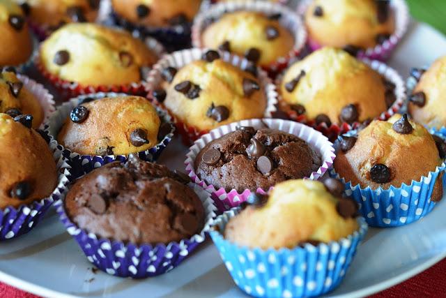 Cupcakes aux Pépites du Chocolat
