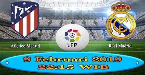 Prediksi Bola855 Atletico Madrid vs Real Madrid 9 Februari 2019