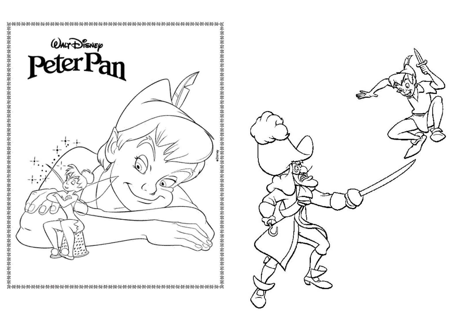 Livro De Colorir Peter Pan Montando Minha Festa