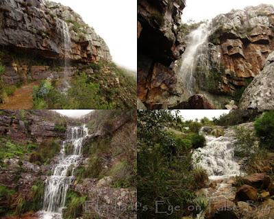 Table Mountain waterfalls
