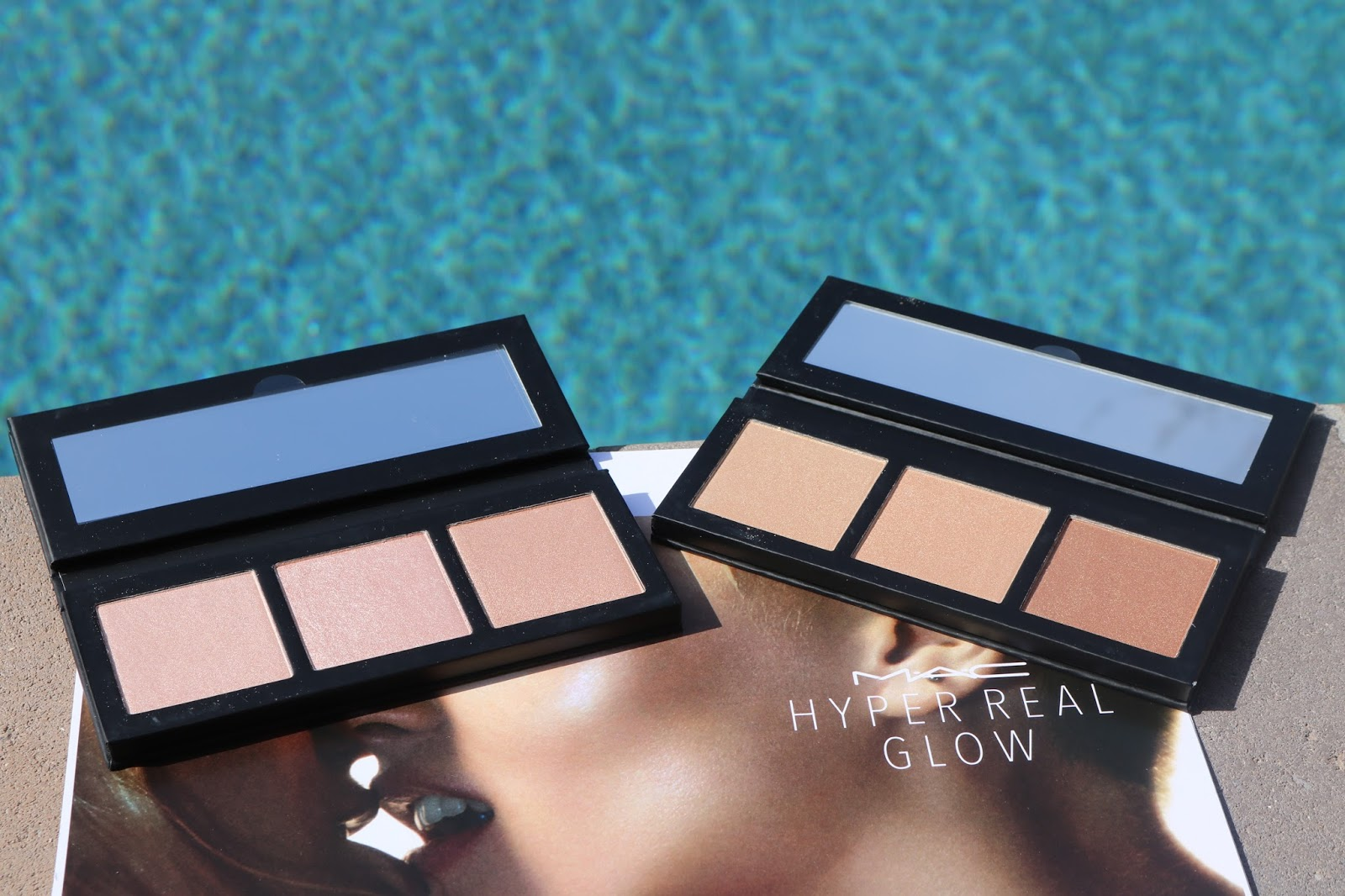 MAC Hyper Real Glow Palettes in Flash + Awe and Get it Glowin'