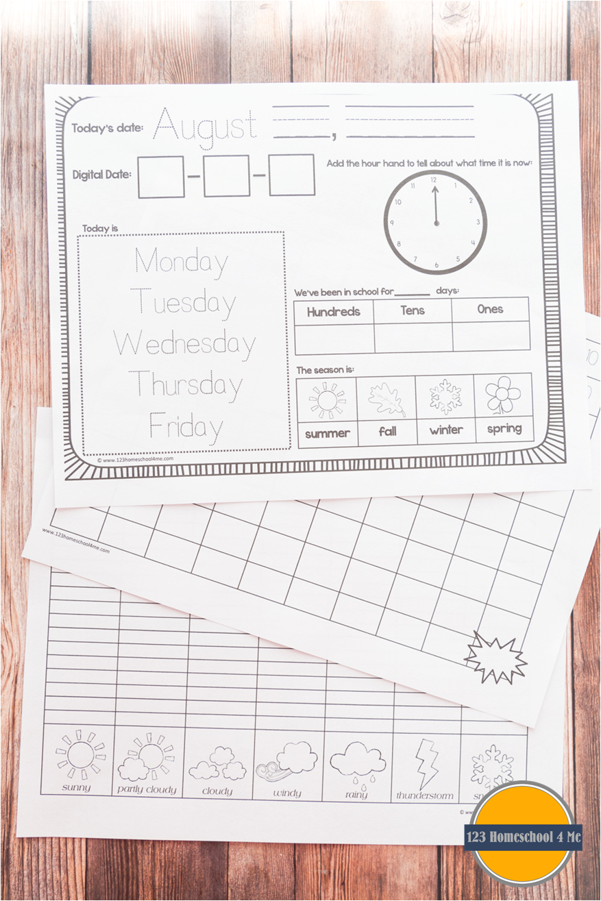 Calendar Worksheet Ks : Kindergarten calendar worksheets gallery super teacher