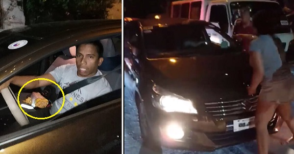Car owner and friends chase after stolen car in heart-stopping movie-like scene