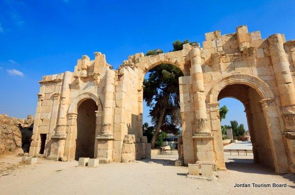 Puerta Sur (Jerash, Jordania)