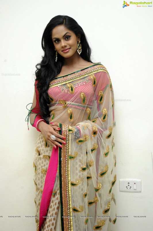 KARTHIKA sizzles at Dammu audio function