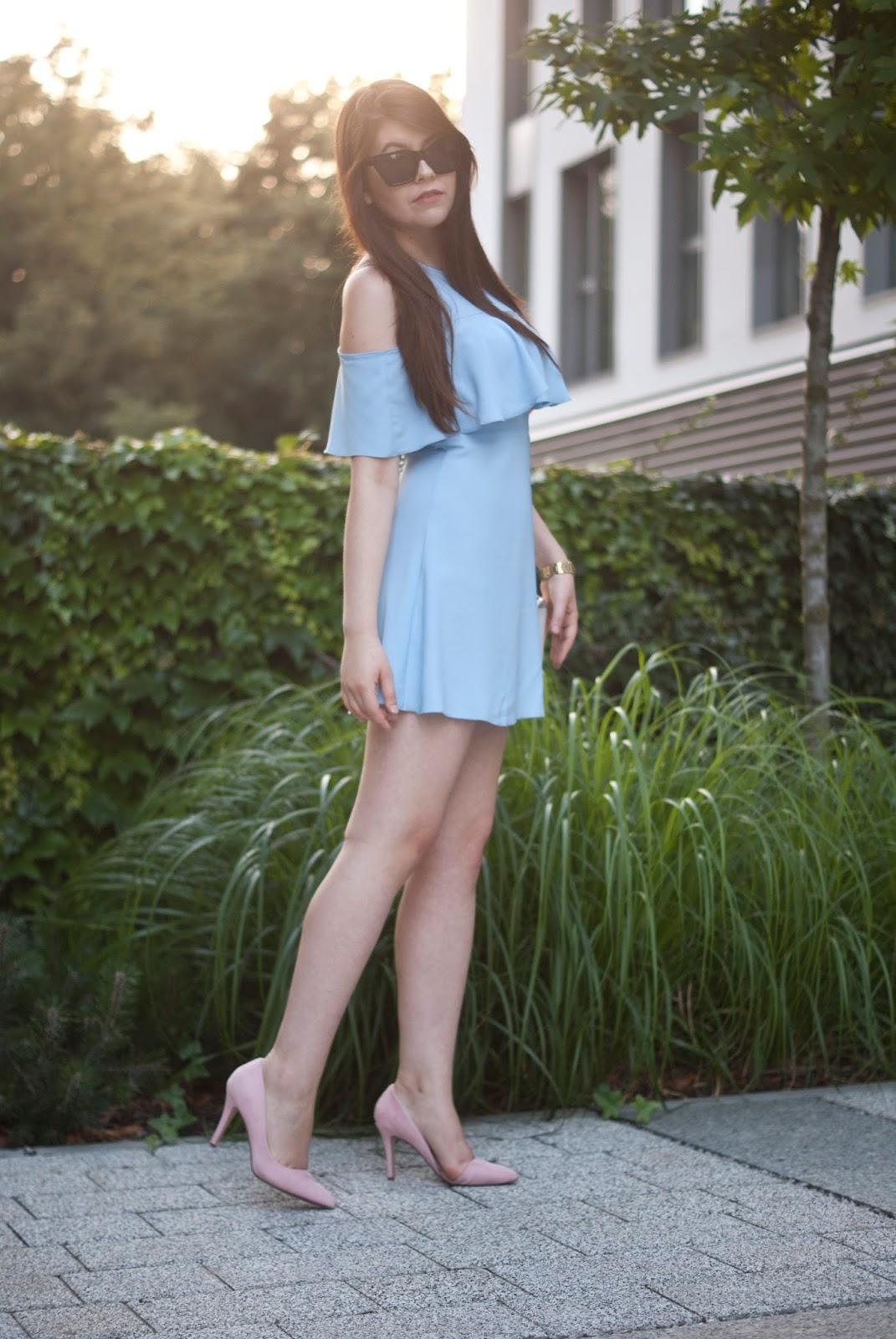 Zaful Blue Dresses / Niebieska sukienka