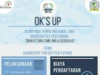 Olimpiade Kimia Nasional 2019 di Universitas Pertamina