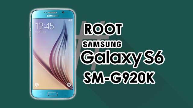 Cómo ROOTEAR Samsung Galaxy S6 SM-G920K