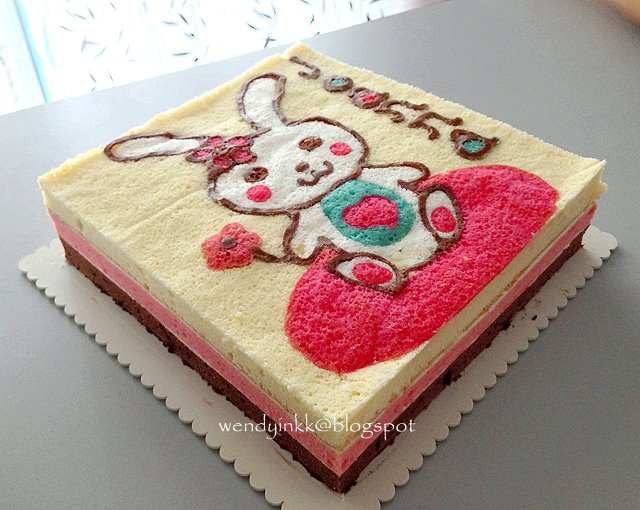 The Year Before My Niece Joanna Requested A Bunny Cake And Next ANOTHER I Told Her Cant Make 3 Cute Cakes That Dont Look