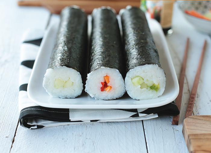 Sushi Bazooka Radbag Maki vegetarisch