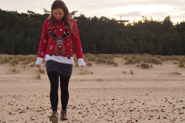 Christmas jumper festive knit