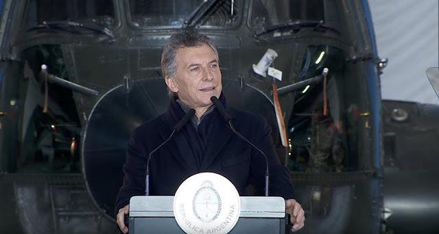 Macri anunció un plan de reforma de las Fuerzas Armadas