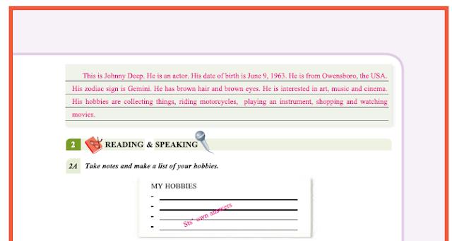 9. Sınıf Yıldırım Yayınları İngilizce A1.2 Ders Kitabı 25. Sayfa Cevapları Theme 2 Personality and Character