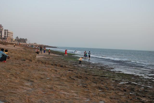 beach @ porbandar