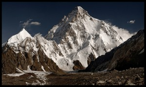 2. Gunung K2 (8611m), Pakistan