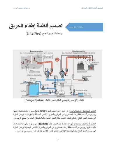 انظمة اطفاء الحريق pdf