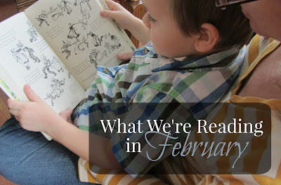 What We're Reading in February 2015-book choices for homeschool