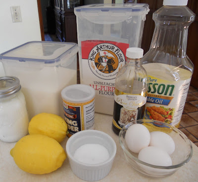 Lemon Yogurt Cake Ingredients