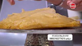 طريقة عمل جلاش بكريمة الفراولة مع سالي فؤاد في حلو وحادق