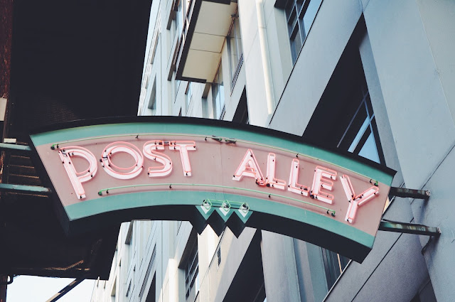 Post Alley in Seattle