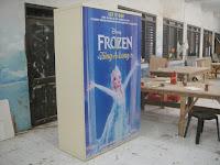 Lemari Kamar Anak Gambar Kartun - Furniture Semarang