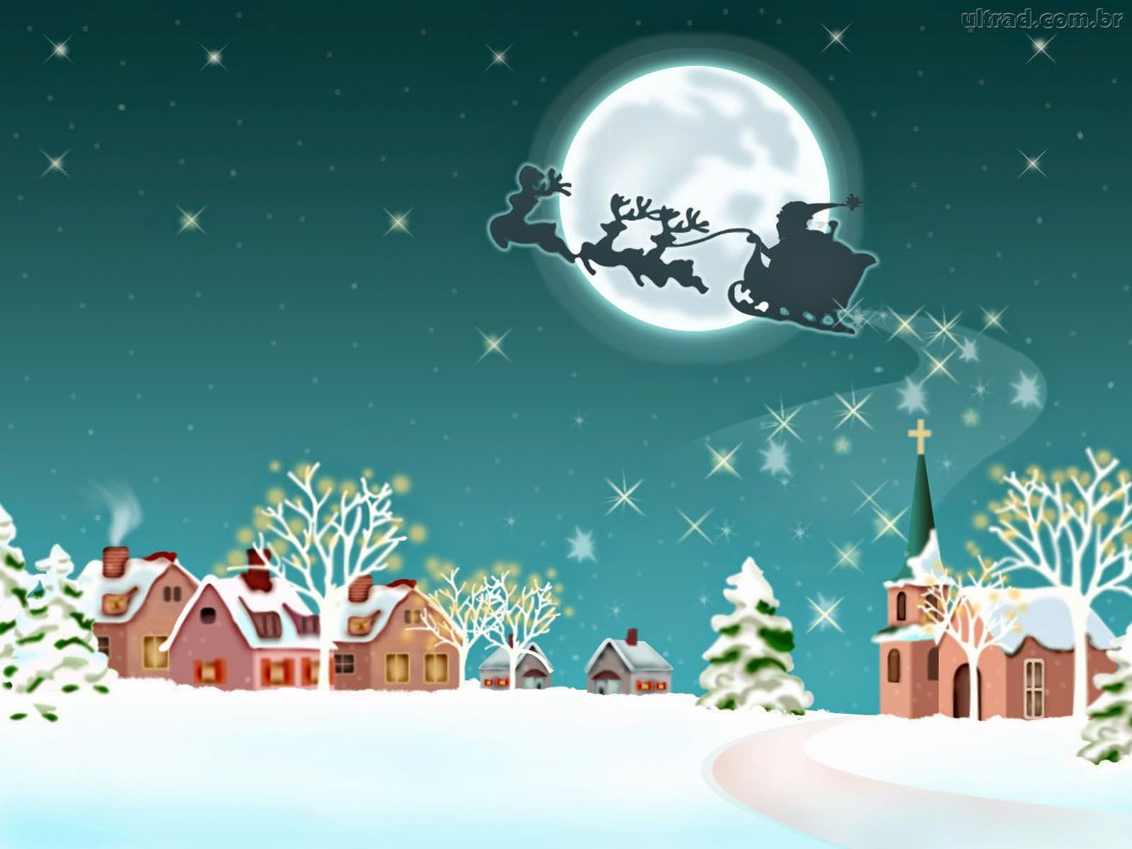 Santa-flying-in-his-sleigh-over-snow-town-cartoon-image-picture-for-kids.jpg