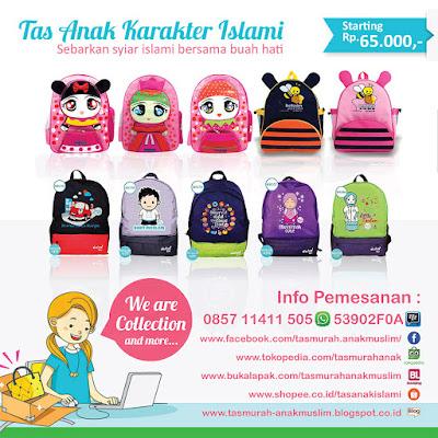 Koleksi tas anak muslim Terbaru