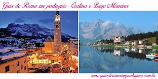 Paseios Veneza Cortina Lago Misurina - Guia de turismo em Veneza