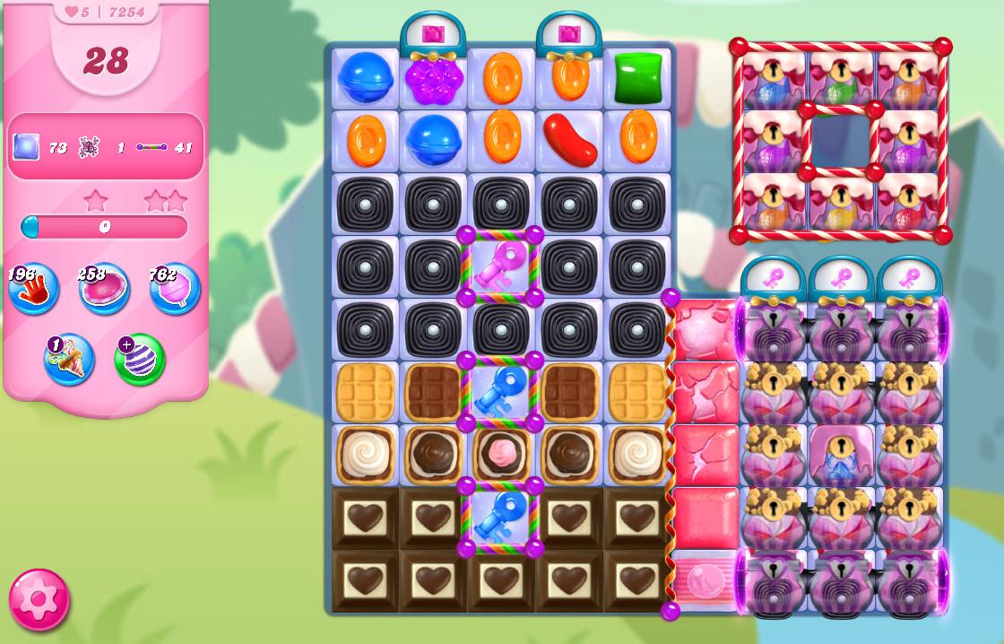 Candy Crush Saga level 7254