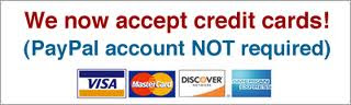 24Notary accept all major credit cards - San Jose Mobile Notary