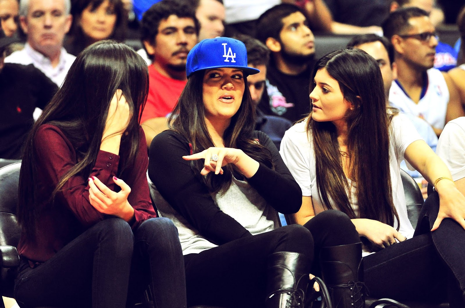 13 - Watching The Los Angeles Clippers Game on October 17, 2012