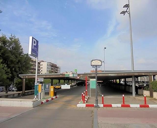 Aparcamiento de la estación RENFE en Alicante (foto obtenida de Internet)