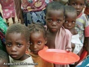 Niños sufren hambruna en Sudán del Sur