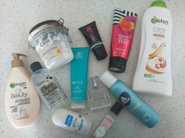 Fall/Winter Empties Body Care