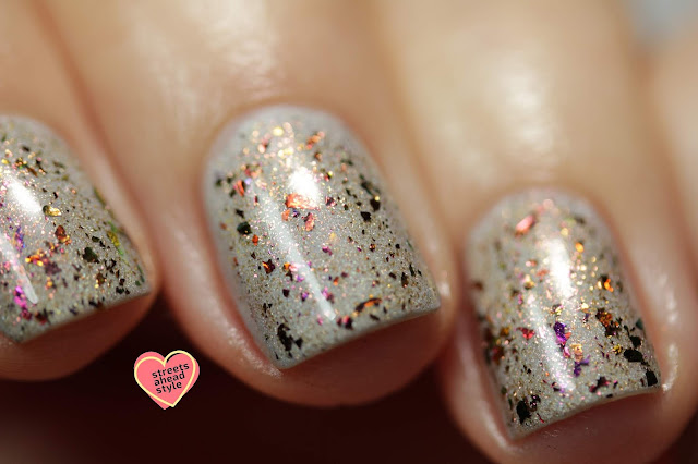 Girly Bits Flickering Forest swatch by Streets Ahead Style