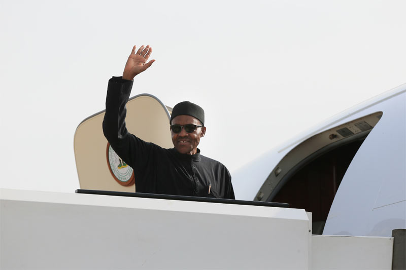 President Buhari jets out to Germany for health issues, diplomacy talks