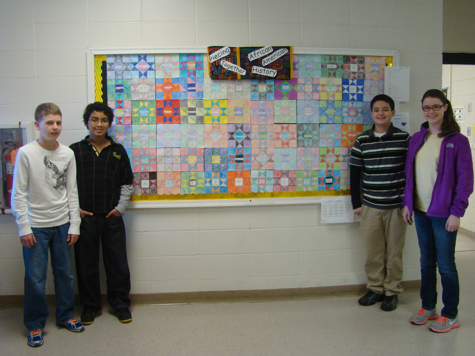 Ardmore High School 6th Grade Black History Month Project