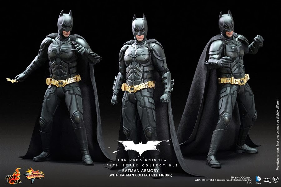 acteur reussite hot toys batman